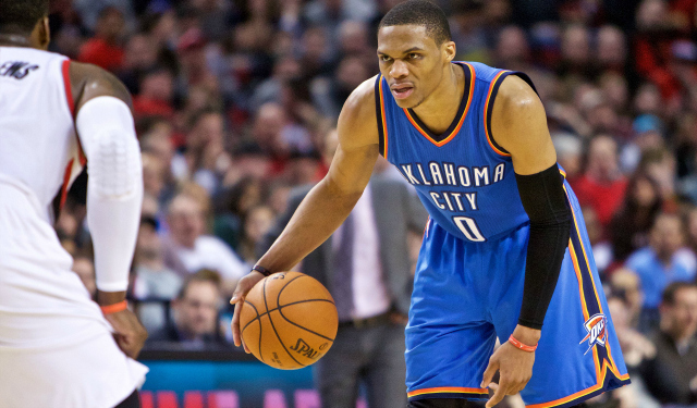 Russell Westbrook is unstoppable.  (USATSI)