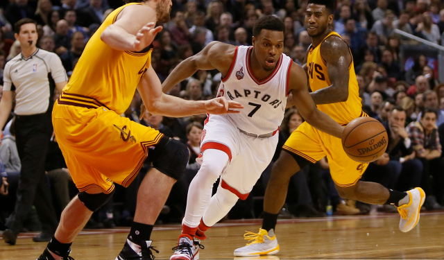 Few teams run the pick-and-roll as often and well as the Raptors. (USATSI)