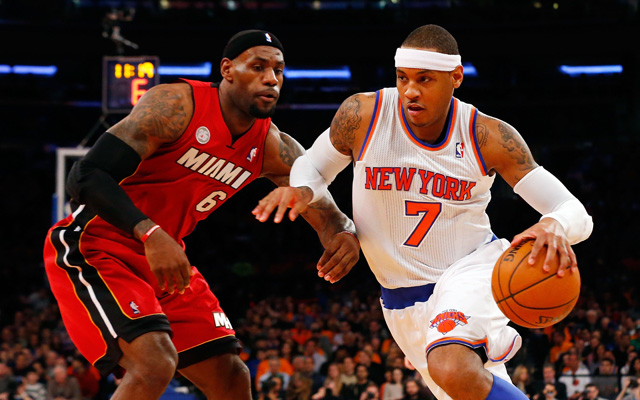 Carmelo Anthony and the Knicks have a schedule to make another run. (USATSI)