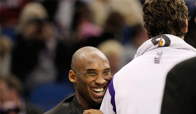 Kobe sounds confident that Pau will be back. (USATSI)