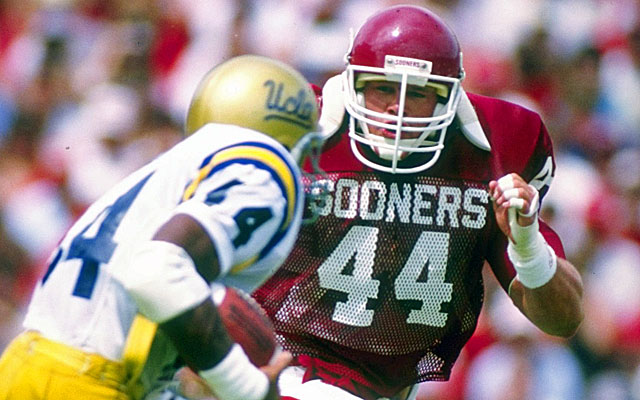 Why is Brian Bosworth, the most decorated college linebacker in history, still waiting for the call? (Getty)