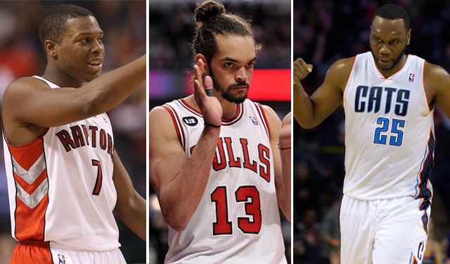 Lowry, Noah, and Jefferson have been huge in the East. (USATSI)