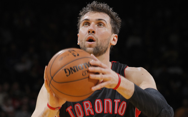 Bargnani out for the year.  (Getty Images)