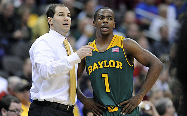 Baylor coach Scott Drew has Kenny Chery and the Bears on a serious roll. (USATSI)