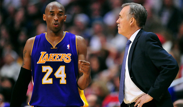 Kobe Bryant has missed most of the Lakers' tough 2013-14 season with injury. (USATSI)
