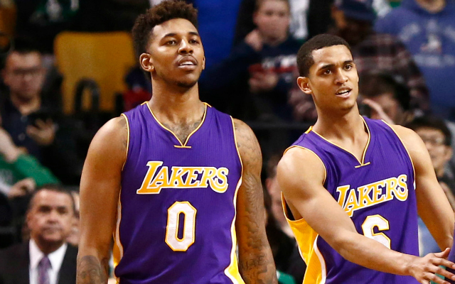 sale retailer 30c0b f0d29 Lakers: 'Different interpretations' of Jordan Clarkson, Nick ...