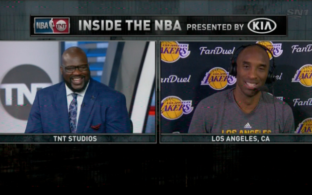 WATCH: Shaq challenges Kobe Bryant to score 50 in final game