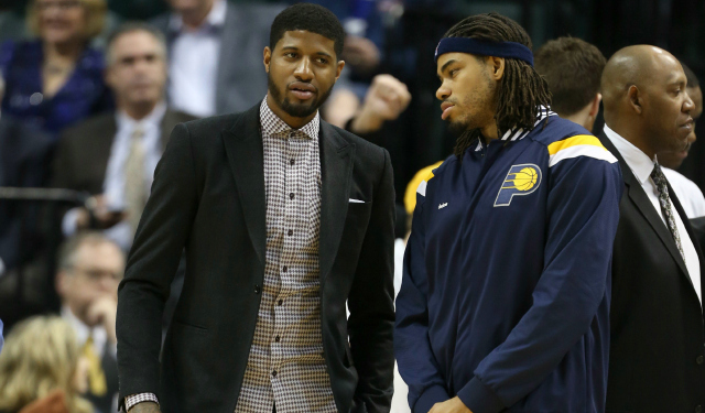 a9ffdbb18ec Paul George is possibly going to make his return soon. (USATSI)