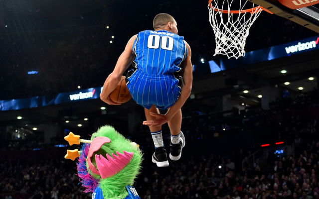 Paul George says Aaron Gordon is the true NBA slam dunk champion