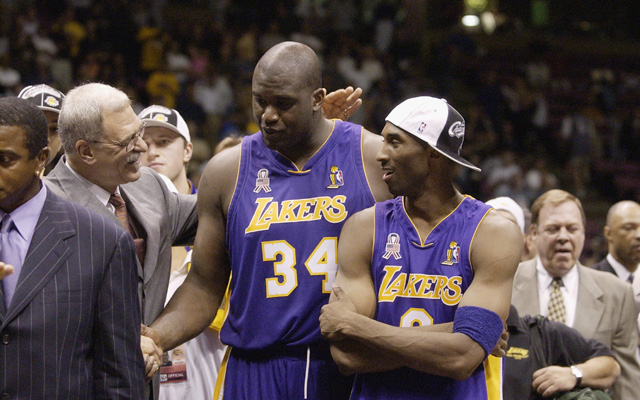Shaq says Kobe Bryant is a 'competitive kid.' (USATSI)