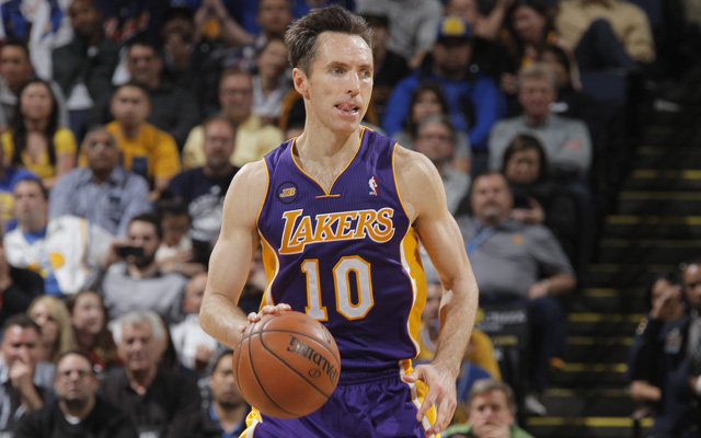 Steve Nash hasn't called Byron Scott back. (USATSI)