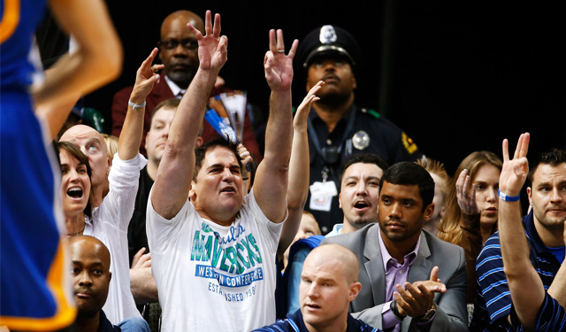 Mark Cuban is interested in HGH's effects on injury recovery. (USATSI)