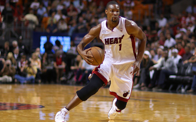 Bosh was robbed Wednesday night.     (Getty Images)