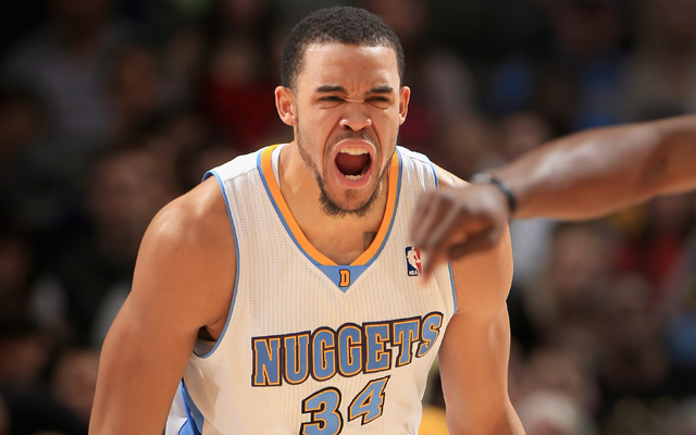 Can JaVale get his jumper wet?    (USATSI)