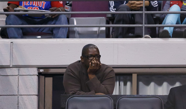 Could Joe Dumars finally be on his way out of Detroit? (USATSI)