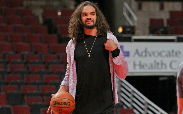 Joakim Noah is headed for free agency.  (USATSI)
