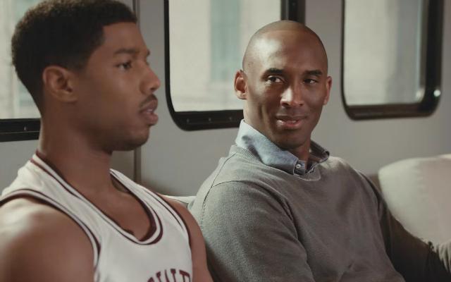 This Kobe ad with Michael B. Jordan is perfect. (Apple)