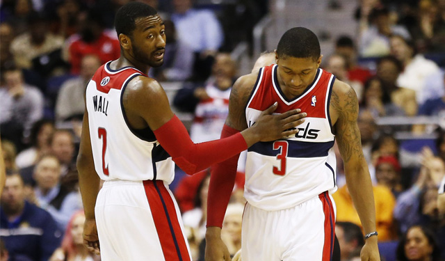 Are Beal and Wall having problems giving proper effort? (USATSI)