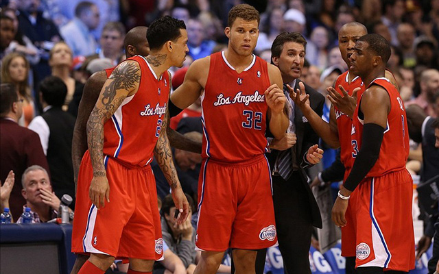 The Clippers are in the thick of the playoffs race.    (Getty Images)