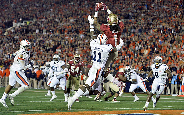 Florida State's win over Auburn ended the SEC's stranglehold on the BCS title. (USATSI)