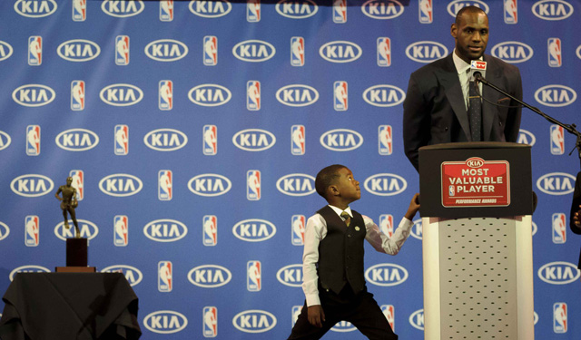 Is LeBron MVP run finally over? (USATSI)