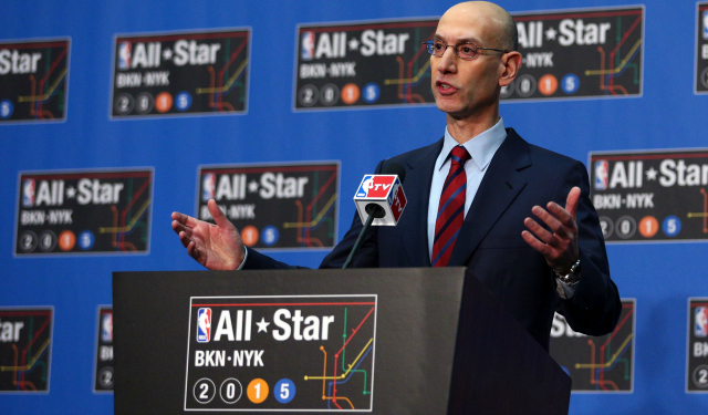 Adam Silver is forward-thinking when it comes to sports betting.  (USATSI)
