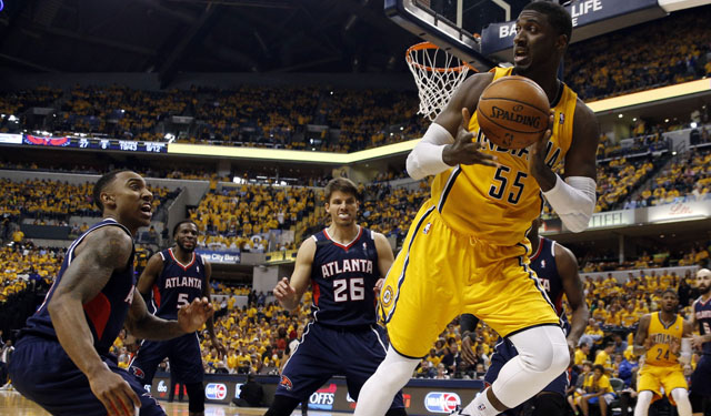 Can Hibbert and the Pacers figure out winning again? (USATSI)