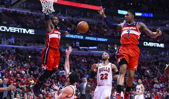With Wall and Beal, the Wizards finally have a youth movement. (USATSI)