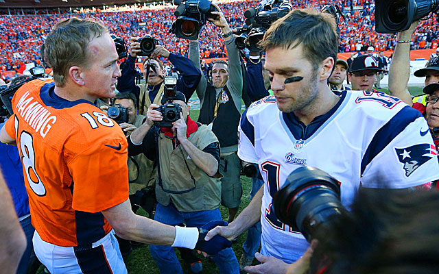 After falling in the AFC title game, Tom Brady gets another shot at Peyton Manning in Week 9. (USATSI)