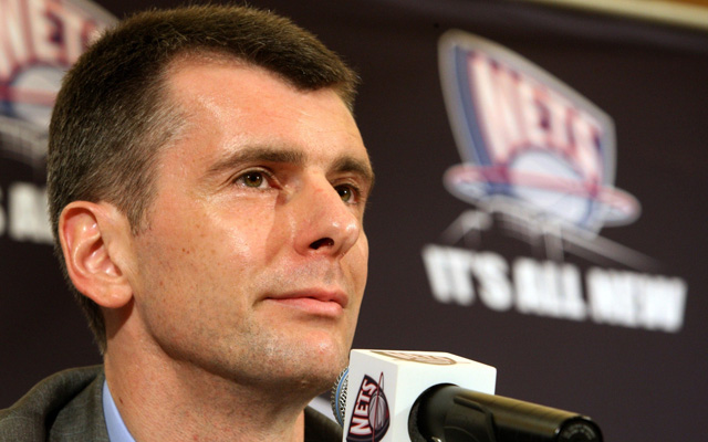 Mikhail Prokhorov thinks the Nets are 'one player away'    (Getty Images)