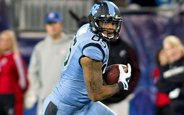 Eric Ebron is the only tight end or running back deserving of a first-round grade.  (USATSI)