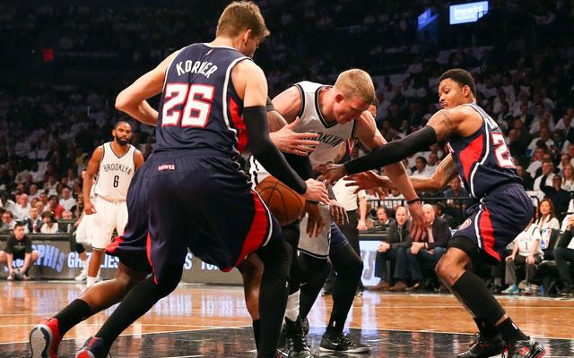 Nets vs. Hawks (USATSI)