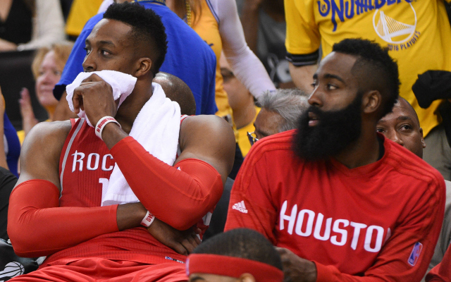 acd59e209a1 Dwight Howard and James Harden could be just about done as teammates.  (USATSI)