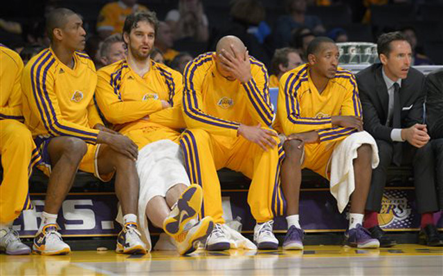 The Lakers are injured. Almost all of them.    (USATSI)