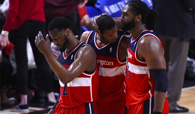 The Wizards needed just five games to take down the Bulls. (USATSI)