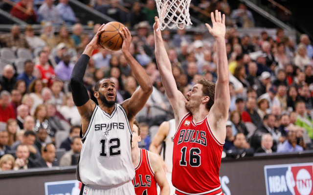 Pau Gasol would fit nicely in San Antonio.  (USATSI)