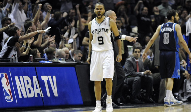 Parker showed up and was a presence for the Spurs. (USATSI)