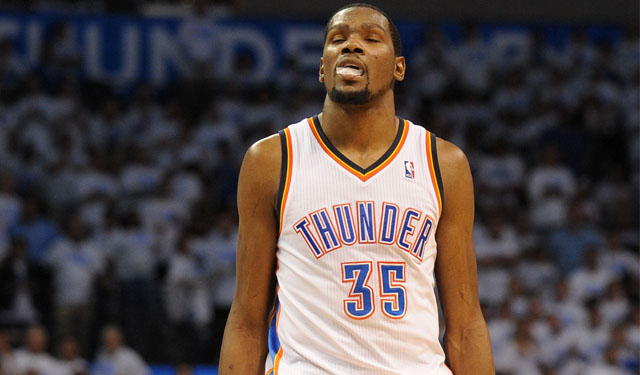 How do the Thunder get Durant going? (USATSI)