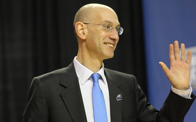 Say hello to a new age of transparency with Adam Silver.  (USATSI)