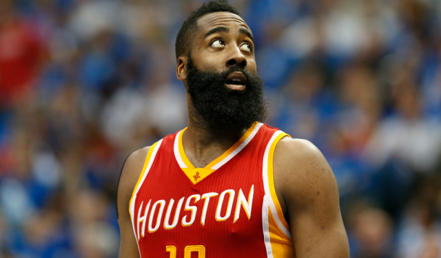 James Harden on Stephen Curry winning MVP: 'It was nothing'