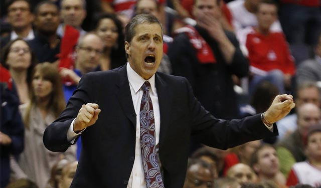 Randy Wittman's Wizards reached the second round of the playoffs this year. (USATSI)
