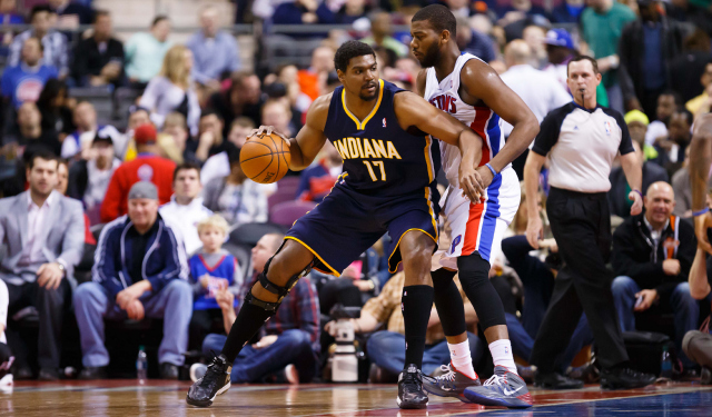 You won't see Andrew Bynum in a Pacers uniform this postseason.