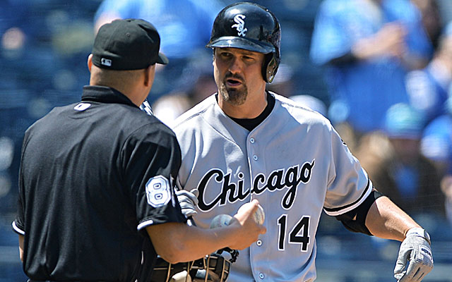 Paul Konerko is just one of many White Sox players off to a bad start this season. (Getty)