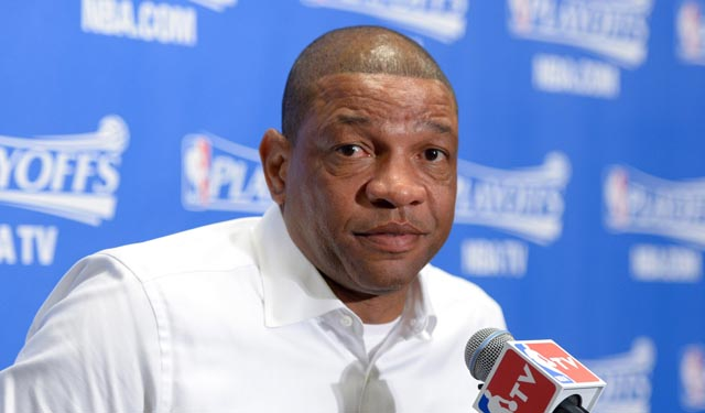 Doc Rivers is probably going to roll with Magic Johnson on this. (USATSI)