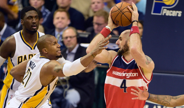 Marcin Gortat could not be stopped on Tuesday.