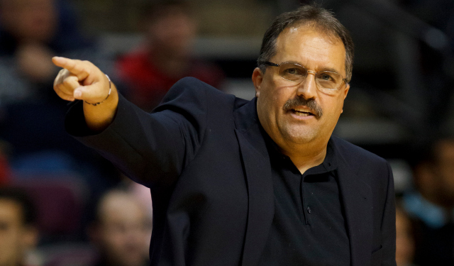 Stan Van Gundy will reportedly be in charge of the Detroit Pistons.