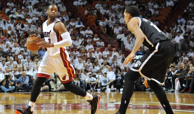 Wade came up big in Game 5 to close out the series. (USATSI)