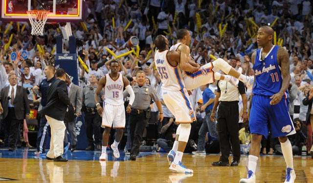 The Thunder can close it all out in Los Angeles. (USATSI)