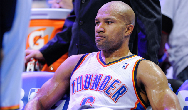 Derek Fisher is a target of the Knicks for head coach.  (USATSI)