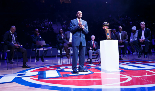 Isiah Thomas is reportedly going to own part of the Pistons.
